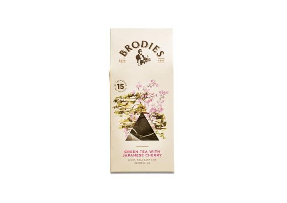 Green Tea with Japanese Cherry | Brodies